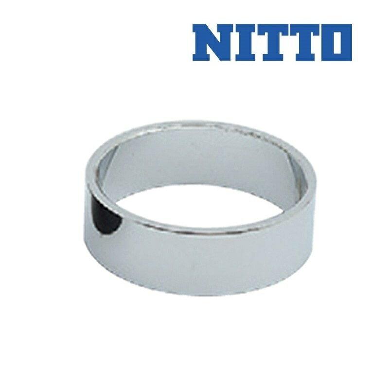 NITTO(ニットー) クロモリAヘッドスペーサー1インチ 5mm CP[コラムスペーサー][ハンドル・ステム・ヘッド]