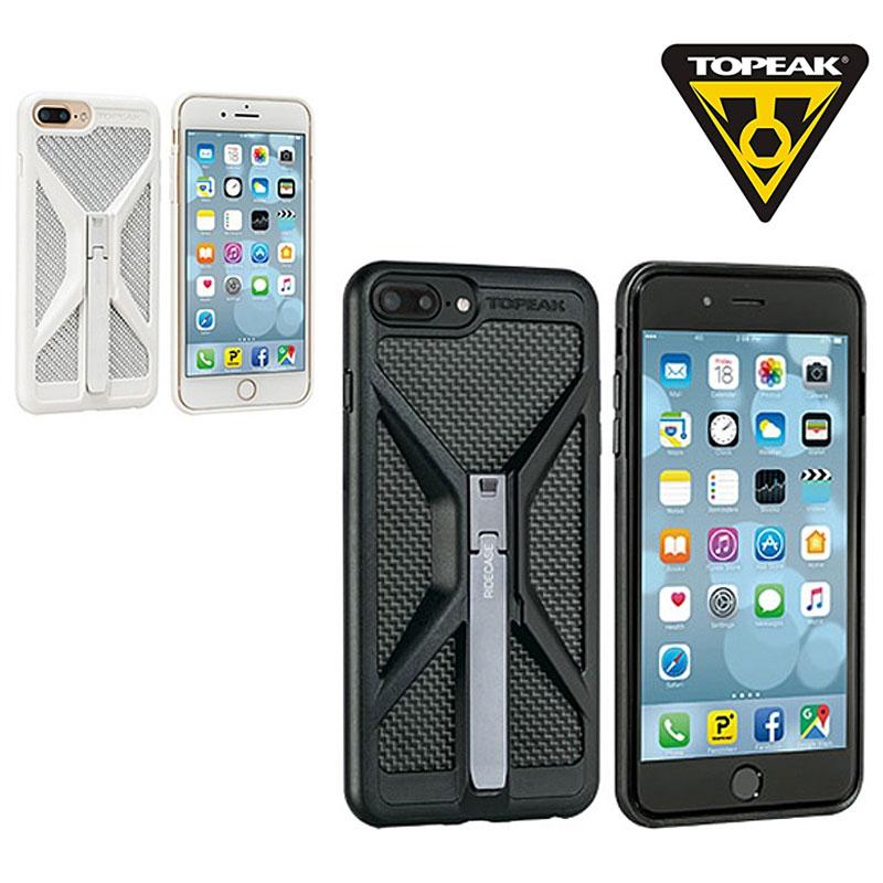 TOPEAK(トピーク) RIDECASE FOR IPHONE7 PLUS (iPhone7Plus用ライドケース) セット[スマートフォンホルダー][自転車に取り付ける]