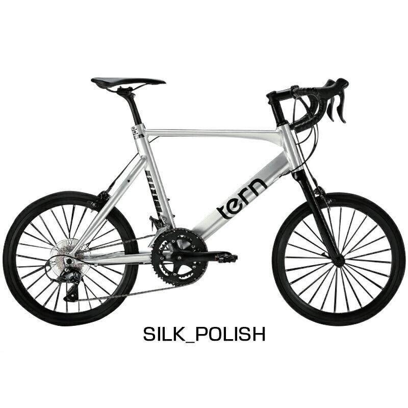 【先行予約受付中】TERN(ターン) 2019年モデル SURGE (サージュ)SILK POLISH[スポーティー][ミニベロ/折りたたみ自転車]