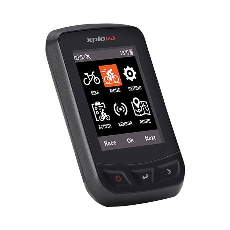 《即納》【あす楽】Xplova(エクスプローバ) X3 GPSサイクルコンピュータ[GPSログ][GPS/ナビ/マップ]