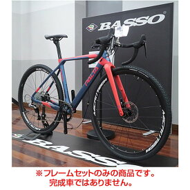 BASSO(バッソ) 2019年モデル PALTA (パルタ)FRAME FORK SET[ロードバイク・ロードレーサー]