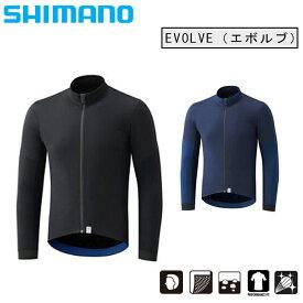 《即納》【土日祝もあす楽】【秋冬ウェア在庫処分大セール】SHIMANO(シマノ)EVOLVE (エボルブ) ウインドジャケット [ウィンドブレーカー] [ロードバイク] [ウェア] [メンズ]