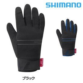 《即納》【土日祝もあす楽】【秋冬ウェア在庫処分大セール】SHIMANO(シマノ)WindstopperR (ウインドストッパーR) インサレーテッドグローブ [サイクル グローブ] [手袋] [ウェア] [ロードバイク]
