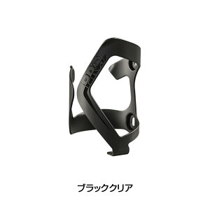 SHIMANO PRO(シマノ プロ) BOTTLE SIDE CAGE ALLOY L (ボトルサイドケージアロイL)ブラッククリア [ボトルケージ] [ロードバイク]