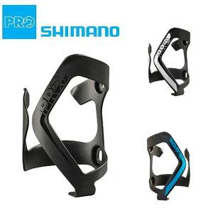 SHIMANO PRO(シマノ プロ) BOTTLE SIDE CAGE ALLOY R (ボトルサイドケージアロイR)ブラッククリア [ボトルケージ] [ロードバイク]