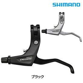 SHIMANO DEORE(シマノ ディオーレ) BL-T610 左右レバーセット 2フィンガー ケーブル付属[ワイヤー用][ブレーキレバー]