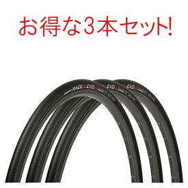 Panaracer(パナレーサー) 【TUBED】【 お得な3本セット】RACE A EVO4 (レースAエボ4)クリンチャー タイヤ 700×23C 25C 28C[レース用]