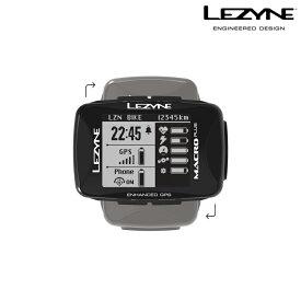 《即納》【土日祝もあす楽】LEZYNE(レザイン) MACRO PLUS GPS (マクロプラス)サイクルコンピューター [サイクルコンピューター] [サイコン] [サイクルメーター] [GPS]