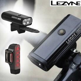 LEZYNEレザイン CONNECT DRIVE/STRIP PAIRコネクトドライブ/ストリップペアフロント・リア 前後LEDセット 充電式 1000ルーメン150ルーメン [ヘッドライト]