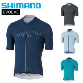 《即納》【土日祝もあす楽】【春夏セールSALE】SHIMANO(シマノ) 2020年春夏モデル EVOLVE (エボルブ)半袖ジャージ CW-JSPS-TS11M [サイクルジャージ][ウェア] [メンズ]