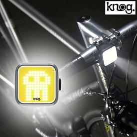 ノグ BLINDER SKULL FRONT (ブラインドスカル)フロントLEDライト 充電式 200ルーメン knog あす楽 セーフティライト フロント