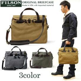 \再入荷/FILSON(フィルソン) オリジナルブリーフケース ORIGINAL BRIEFCASE 鞄 ショルダーバッグ 11070256