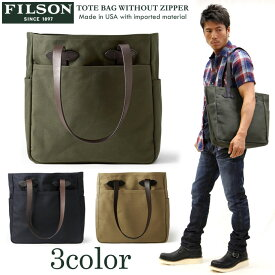 FILSON(フィルソン) トートバッグ TOTE BAG WITHOUT ZIPPER 鞄 11070260