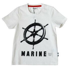 50%OFFセール 日本製子供服 セール ジェネレーター 子供服 generator PT-TシャツプリントTシャツ(MARINE)(ホワイト)100cm/110cm/120cm/130cm/140cm(日本製)