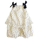 日本製 子供服 セール ホイップクリーム 子供服 Dotセットアップ風ロンパース(オフホワイト)ベビー服 日本製子供服 出産祝い…