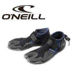 オニール O'NEILL リーフブーツ マリンシューズ AO-8250 2mm 先割れ ラバーソール ウエット ハイパフォーマンスブーツ サーフ SURF トリップ 海 川 岩 遊び マリンスポーツ レジャー 大きい 28 29