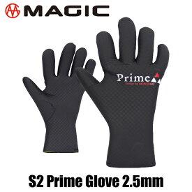 MAGIC S2 PRIME GLOVE 2.5mm R-Checker マジック プライム グローブ 2.5ミリ スキン サーフ サーフィン セミドライ BEWET サンコー ドライ サーフグローブ ウェット ラバー ゴム