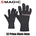 MAGIC S2 PRIME GLOVE 4mm R-Checker マジック プライム グローブ 4ミリ スキン サーフ サーフィン セミドライ BEWE…