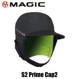 MAGIC S2 PRIME CAP2 1.8mm R-Checker マジック エスツー プライム キャプ2 1.8ミリ スキン サーフ サーフィン セミドライ BEWET サンコー キャップ フード サーフキャップ ヘッドキャップ