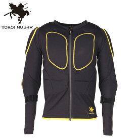 鎧武者 ヨロイムシャ yoroimusya YM-1740 メンズ ボディープロテクター プロテクター 男性用 男女兼用 ジャケット 上着 上 長袖 スノーボード スキー 雪山 バイク バイク用品 ウェアー インナー ポロン 通気性 衝撃吸収性 ノースピーク northpeak