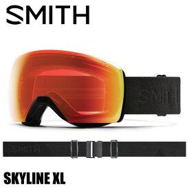 SMITH スミス SKYLINE XL BLACKOUT ゴーグル アジアンフィット 国内正規品 スノーボード スキー スカイライン クロマポップ 調光 球面 曇り止め ラージ ビック ダブルレンズ 凹凸 GOGGLE レンズ交換 フレームレス 返品交換不可