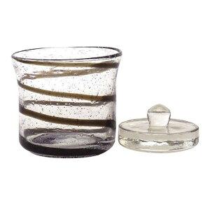 ガラス製 浅漬けポット(ブラック) <ガラス重し付&簡単レシピ付き!>