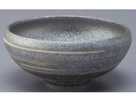 銀彩ライン 丸鉢(白)G5-1802日本製 2個セット 【信楽焼】