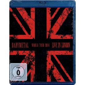 ベビーメタル BABYMETAL ベビメタ BLU-RAY ブルーレイ LIVE IN LONDON 輸入盤 送料無料