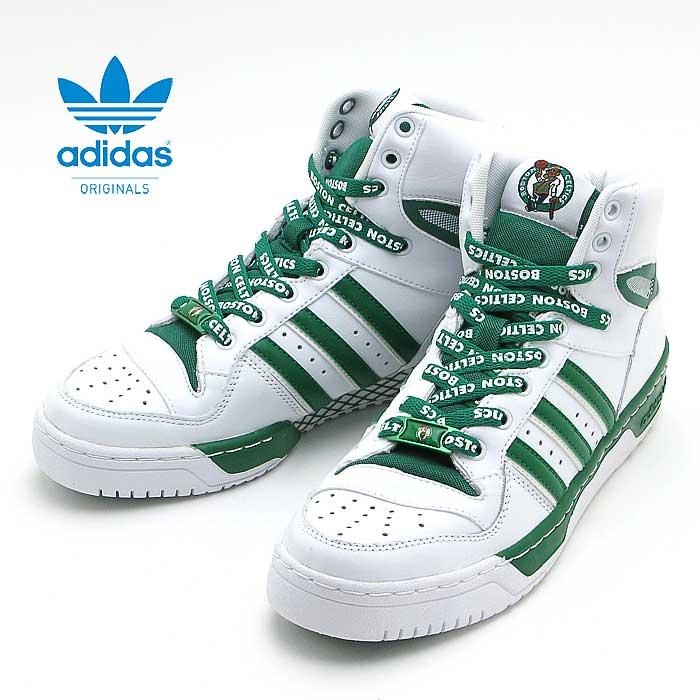 アディダス オリジナルスadidas Originals ATTITUDE HI NBAホワイト/グリーン060136 R.WH/