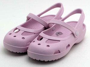 crocs shayna girls 11372-66Gクロックス シャイナ ガールズ バブルガム