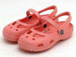 crocs shayna girls 11372-737クロックス シャイナ (メロン)