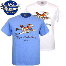 "Buzz Rickson's バズリクソンズ ミリタリーデザインTシャツ ""26th FIGHTER SQ.""br78017"