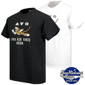 """バズリクソンズ ミリタリーデザインTシャツ Buzz Rickson's S/S T-SHIRT """"フライングタイガース"""" br78347"""