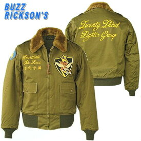 ミリタリージャケット BUZZ RICKSON'S バズリクソンB-10 フライングタイガー 1943 Model[23rd Fighter Group.] br10803