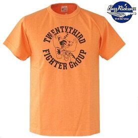 バズリクソンズ ミリタリーTシャツ 半袖 フライングタイガーデザインTシャツ 米国製