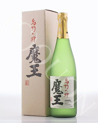 魔王(純正化粧箱入り)720ml [25度] 芋焼酎 【白玉醸造/鹿児島県】