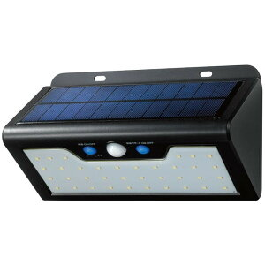 人 車 屋外 照明 常夜灯モード 動き 明かり 太陽光 電気 人感 防雨 ELPA(エルパ) 屋外用 LEDセンサーウォールライト ソーラー発電式 白色 ESL-K411SL(W)