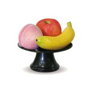 ニューホンコン造花 お供え 食品サンプル 果物3個セット 器付 149302