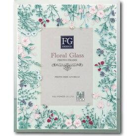 ユーパワー FGデザイン フォトフレーム 「ワイルド フラワー ピンク」 FF-02101