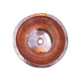 ※2021年2月下旬入荷分予約受付中 銅製洗面ボウル 丸型 29411