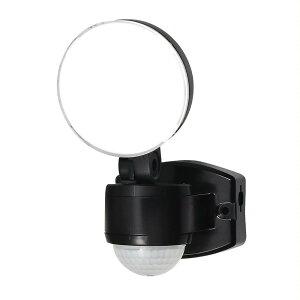 ELPA(エルパ) 屋外用LEDセンサーライト AC100V電源(コンセント式) ESL-SS411AC 照明 ランタン コンパクト 防雨タイプ 人感センサー 屋外使用 防水 おしゃれ