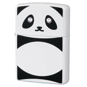 プレゼント 動物 ラインストーン アニマル ギフト ブランド おもしろ かわいい ZIPPO(ジッポー) オイルライター パンダ C クリスタル 63320798