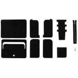 クラフト社 Leather Workshop Series ミドルウォレット (黒) 34170-02 小物 小さい 財布 シンプル キット ハンドメイド 手縫い レザー ギフト おしゃれ ブラック