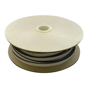 光 (HIKARI) スポンジドラム巻粘着付 3×15mm KS315-50TW 50m ゴム素材 ドラム巻き 粘着テープ 便利 防音 戸当たり DYI 緩衝材
