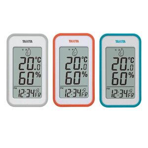 TANITA タニタ デジタル温湿度計 TT-559 温度計 アラーム 置き時計 卓上 おしゃれ 湿度計 デジタル時計 室内