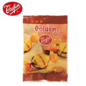 Trefin・トレファン社 ゴールデンタフィ 100g×20袋セット お菓子 ベルギー おやつ 香ばしい キャンディ 濃厚 バター風味 無着色 甘さ 飴