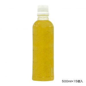 まとめ買い 業務用 調味料 BANJO 万城食品 塩レモンソースR(新) 500ml×15個入 490720