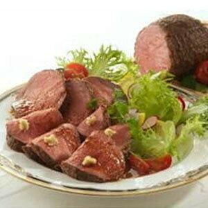 赤ワイン仕立てローストビーフ 200g ×2パック ソース 真空調理 ギフト 贈り物 冷凍 牛肉 ブロック 低温 御祝 洋風総菜 オードブル 玉ねぎソース 西洋わさび