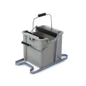 テラモト MMモップ絞り器 C型 CE-892-000-0 掃除 清掃用具 洗う 手が汚れない しぼる 学校 ビル 14L 水切り
