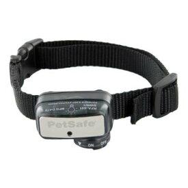 PetSafe Japan ペットセーフ むだぼえ防止 デラックス 小型犬用 バークコントロール PBC18-12843 しつけ 超音波 無駄吠え 愛犬 首輪 犬 ペット用品 記憶 ブラック センサー レベル